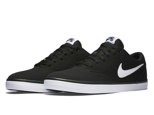 Buty Nike Sb Check Solar (Black/White)
