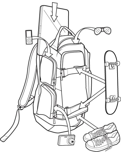 Plecak Burton Distortion (La Sky Heather) Fw18