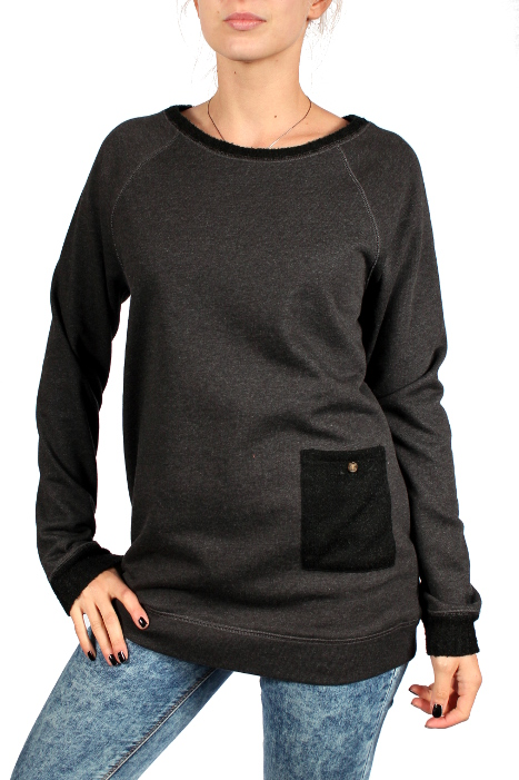 Bluza Burton Lexxon Po (Phantom Heather)