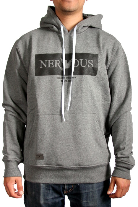 Bluza Nervous Hood Brand Box (Grey) Fa17