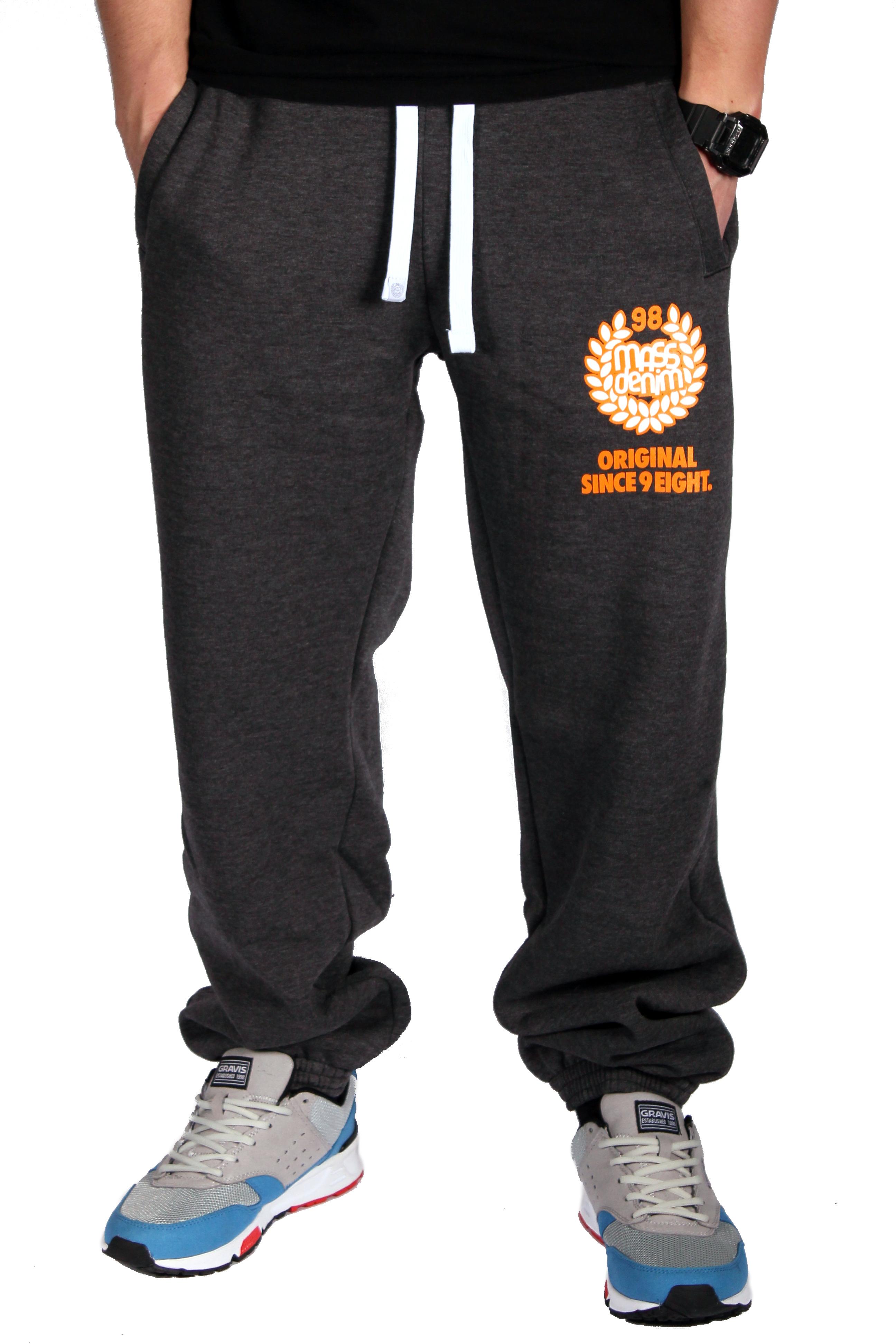 Spodnie Dresowe Mass Dnm Base (Dark Grey)