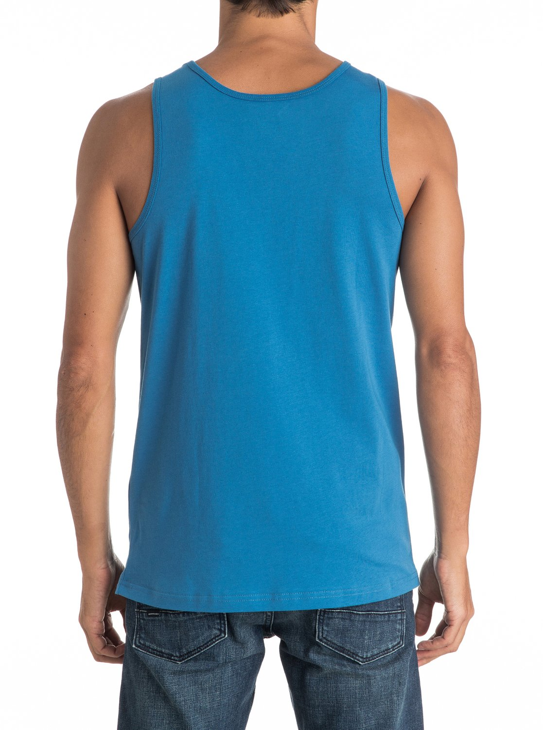 Koszulka Quiksilver Jungle Box Tank (Vallarta Blue) Ss17