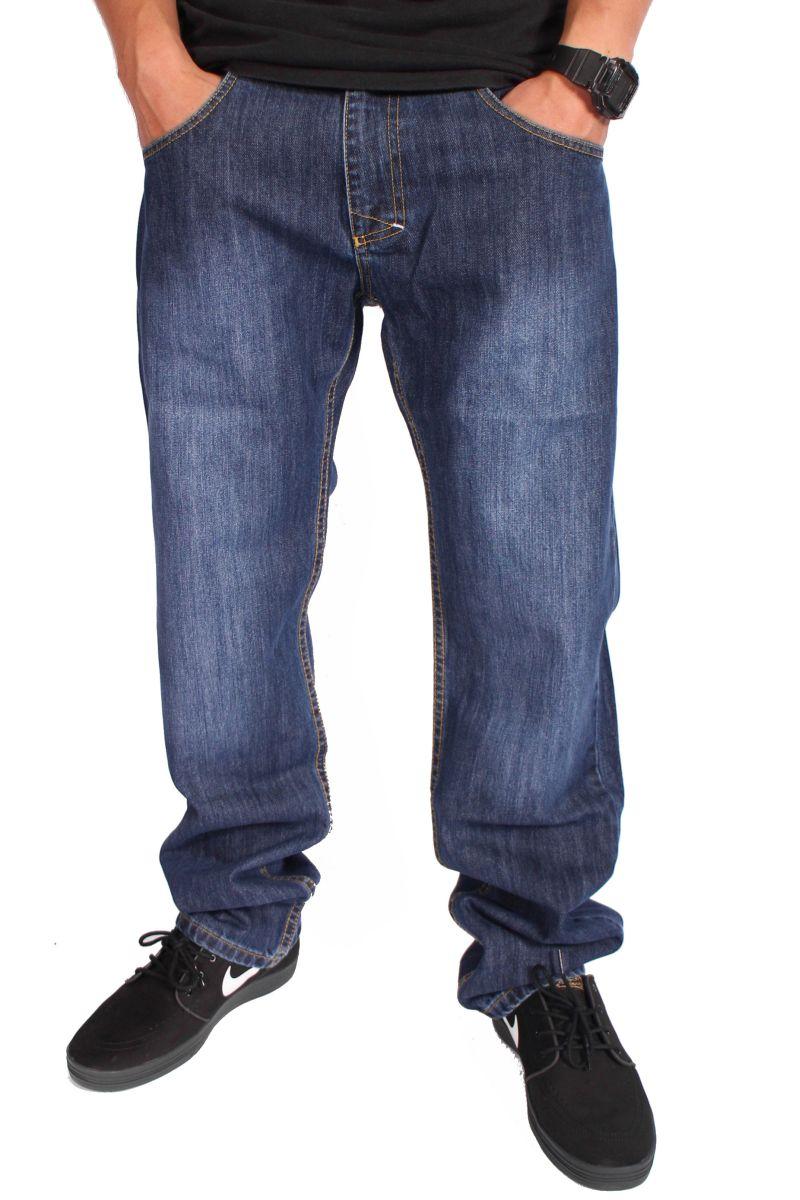 Spodnie Mass Denim Jeans Classics (Blue)