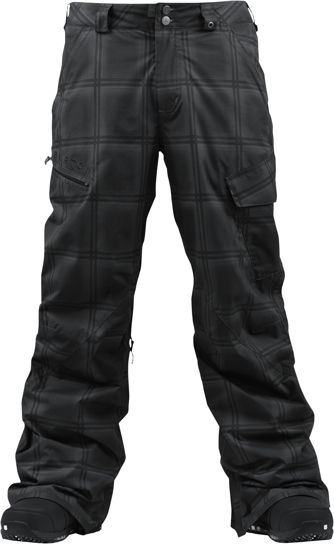Spodnie Snowboardowe Burton Poacher (True Black Ghost)