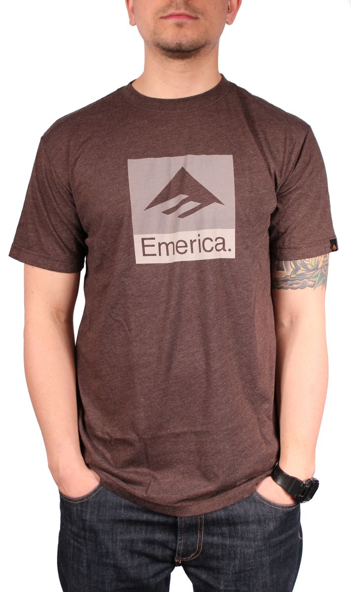 Koszulka Emerica Combo 10 (Brown Heather)