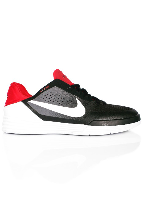 Buty Nike Sb Paul Rodriguez 8 (Black/White/Dark Grey/Gym Red)