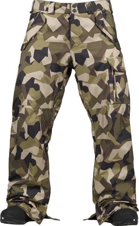 Spodnie Snowboardowe Burton Poacher (Forest M13 Camo)