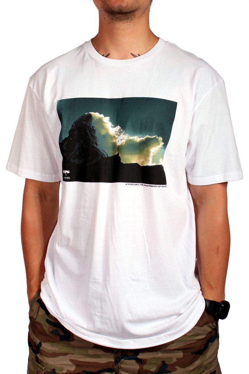 Koszulka Analog Pla Matterhorn (White)