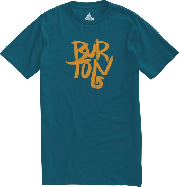 Koszulka Burton Stacked Slim (Cerulean)
