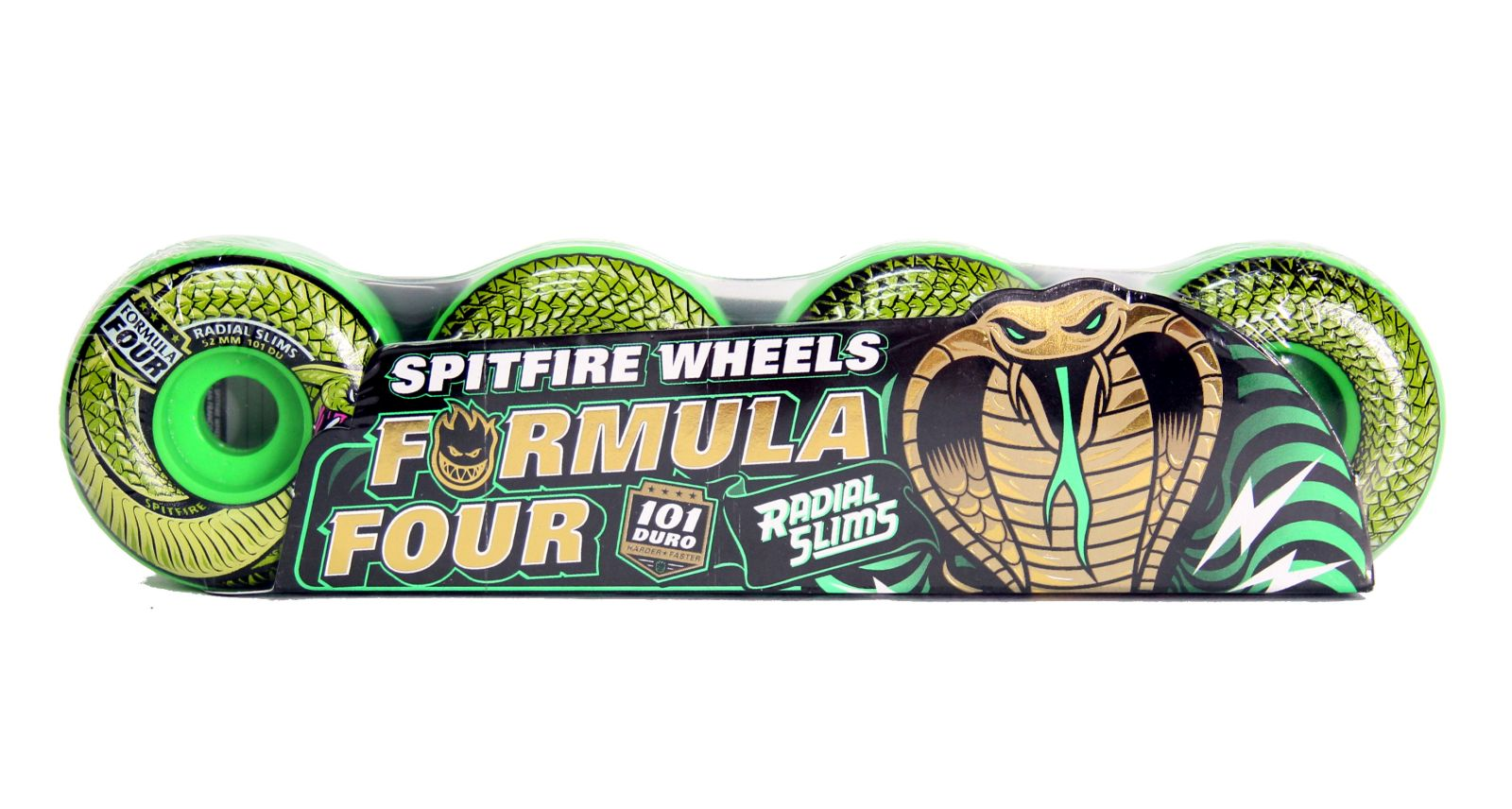 Koła Spitfire Formula Four Radial Slim (Snake Bites) 52mm