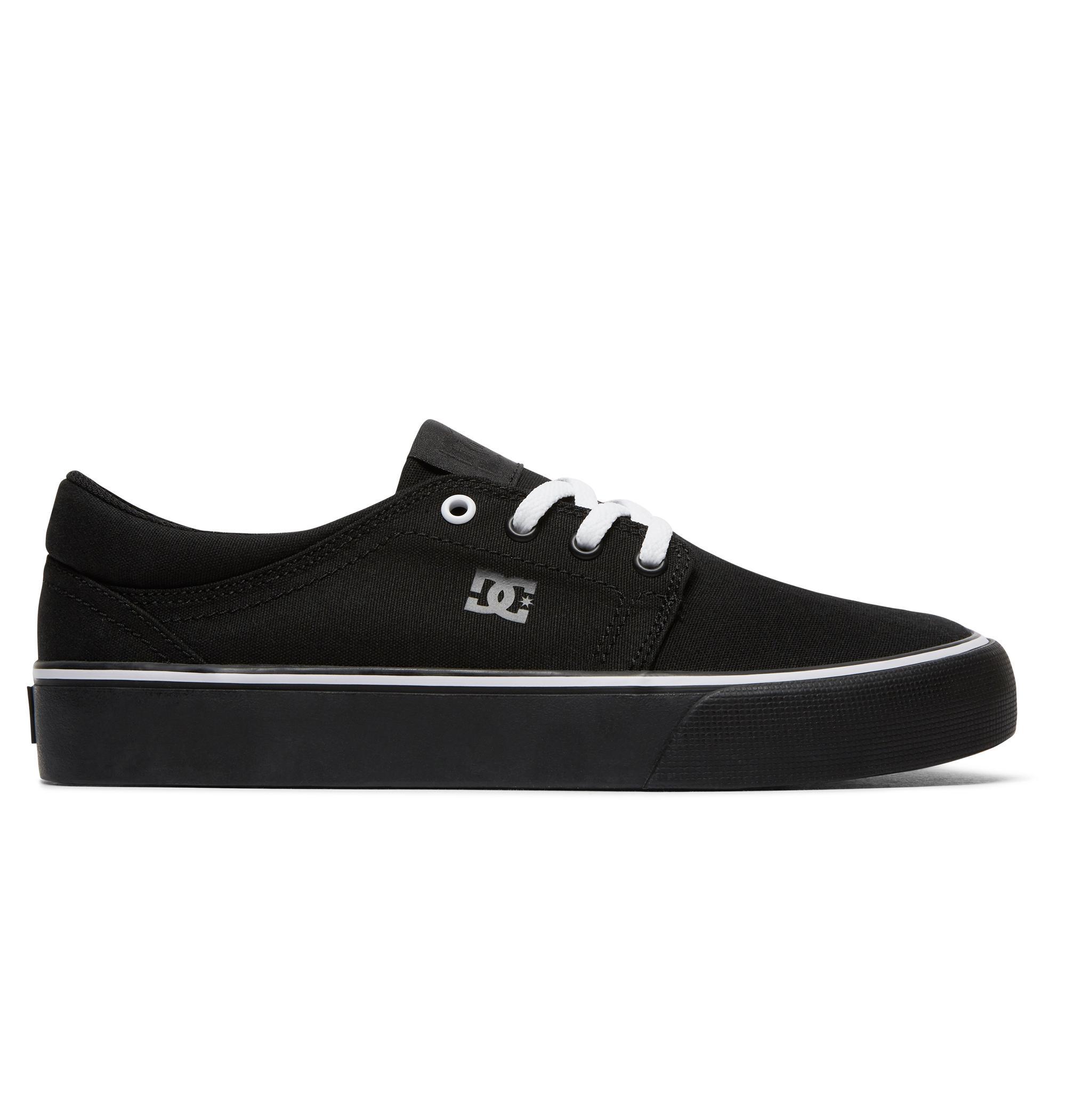 Damskie Buty Dc Trase Tx (Black Black White) Ss18