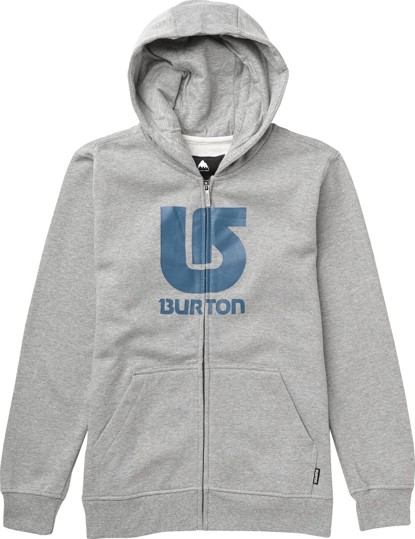 Bluza Dziecięca Burton Boys Logo Vertical (Heather Grey)