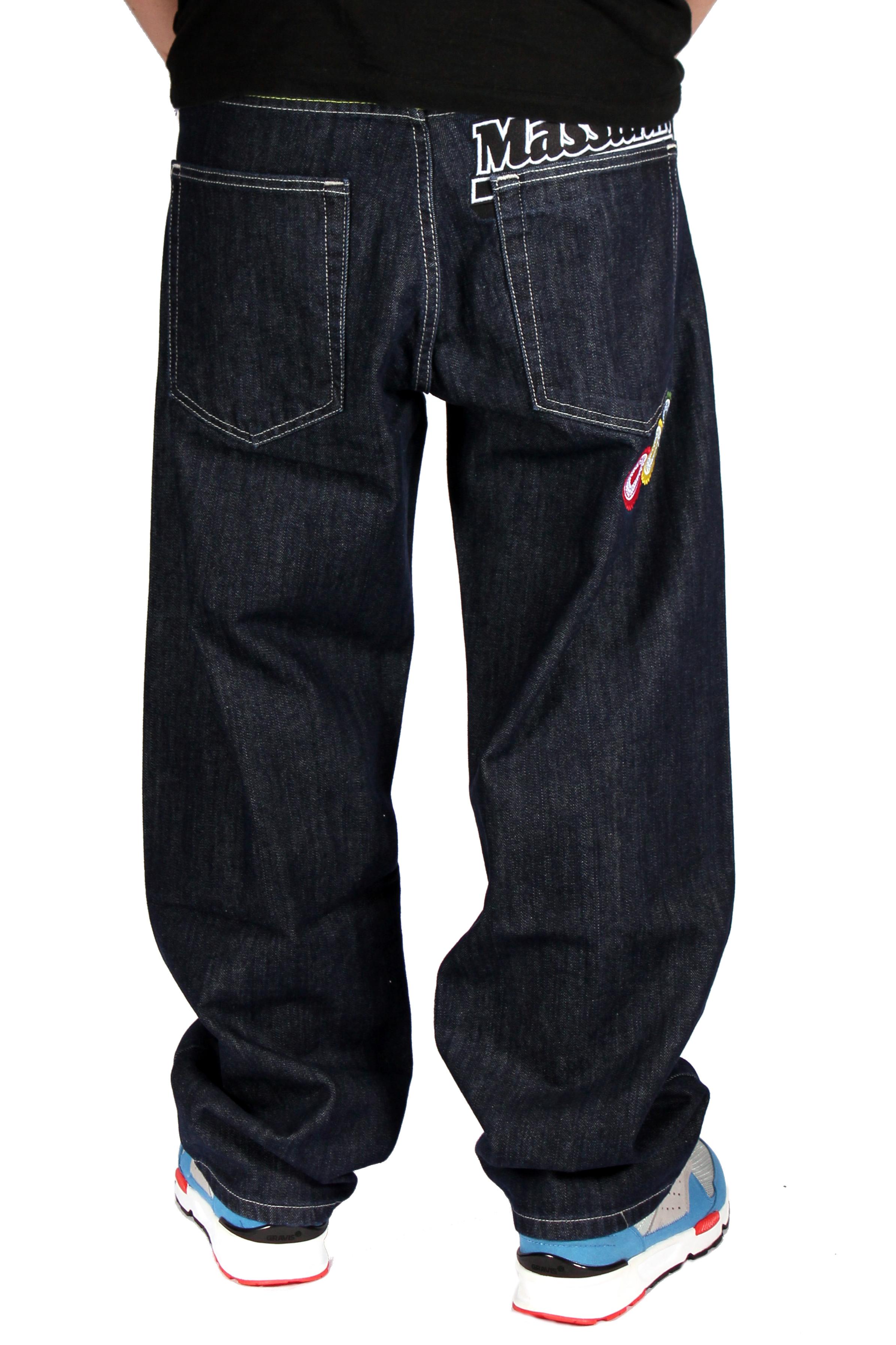 Spodnie Mass Denim Jeans Fiesta Baggy (Rinse)