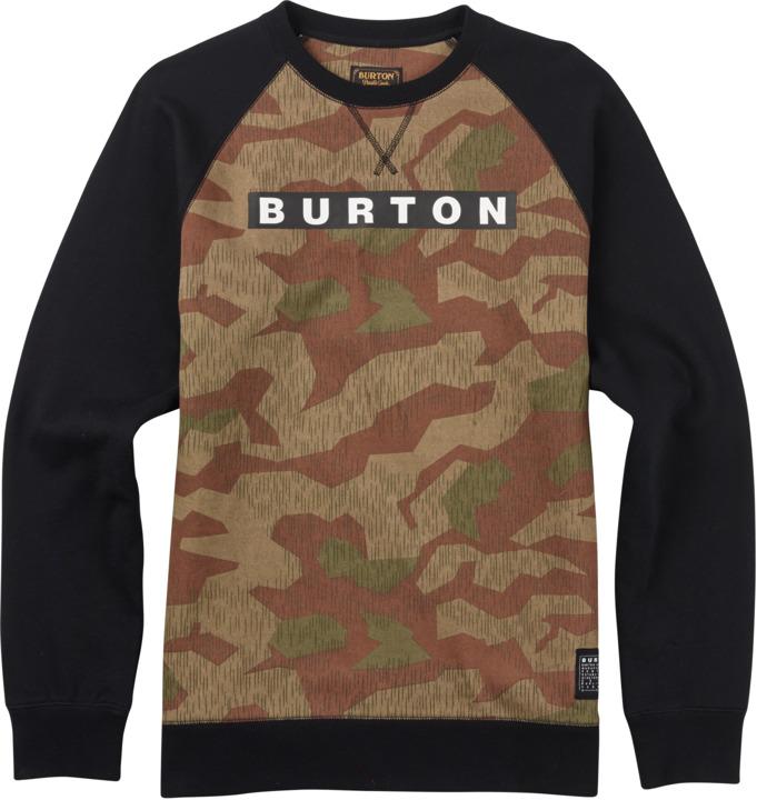 Bluza Burton Vault Crew (Splinter Camo) Ss17