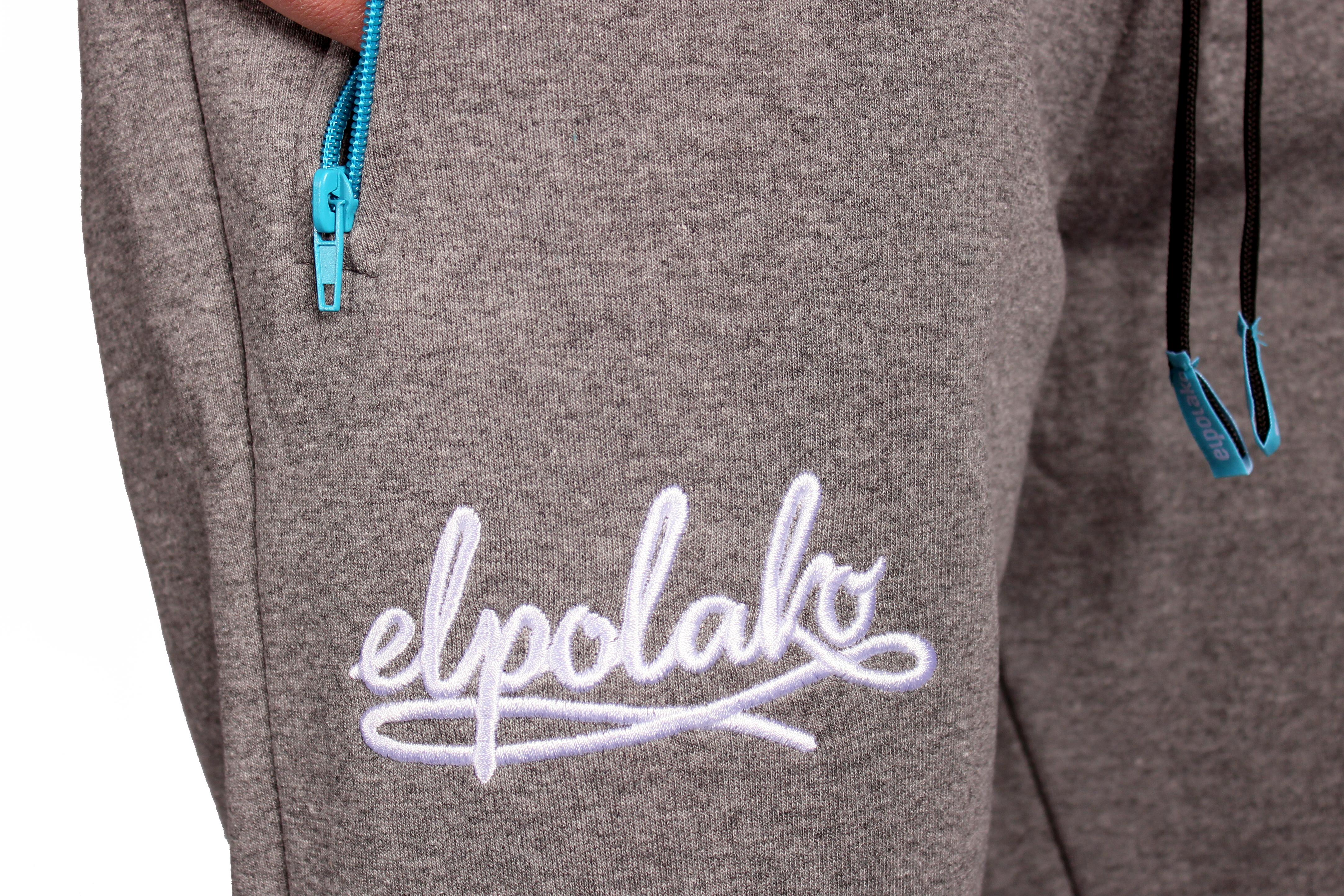 Spodnie Dresowe El Polako No.3 (Light Grey)