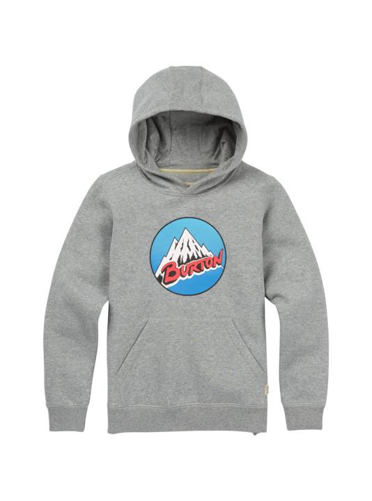 Bluza Burton Boys Retro Mountain Po (Gray Heather) W18