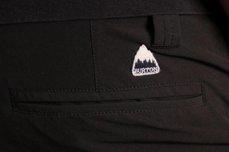 Szorty Burton Base Camp Hybrid (True Black)