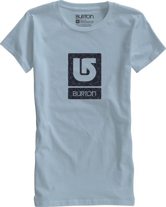Koszulka Damska Burton Logo Vertical (Ghost)