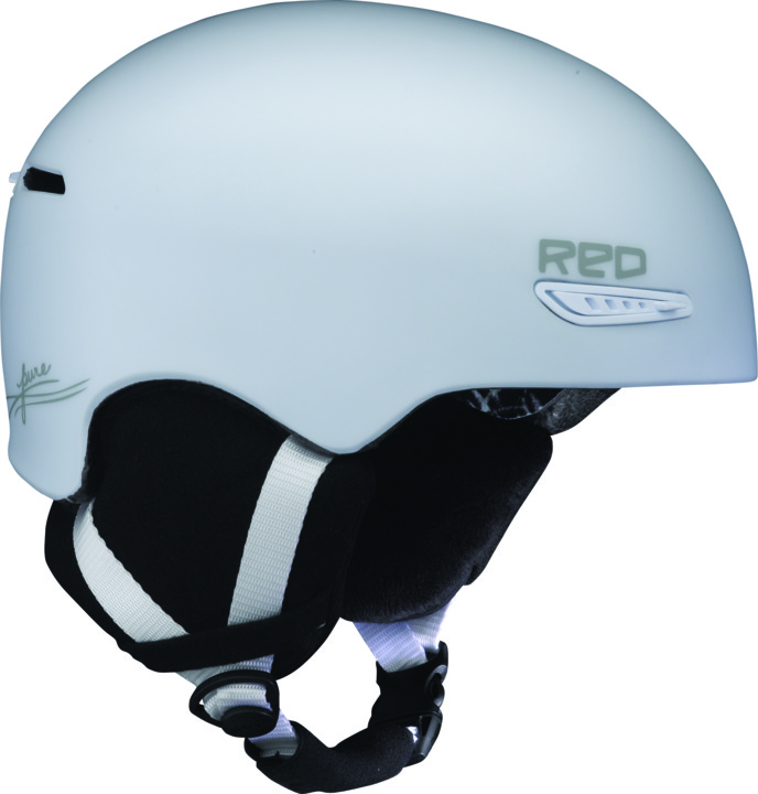 Kask Snowboardowy Red Pure Wmn (White Matte)
