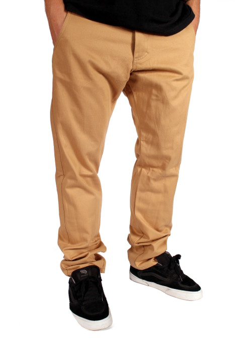 Spodnie Turbokolor Chinos Slim Fit (Khaki)