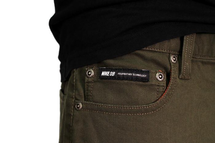 Spodnie Nike Lincoln Stretch 5-pkt (Olive)