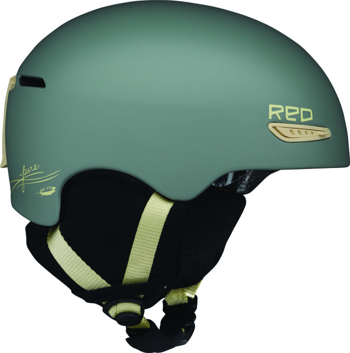 Kask Snowboardowy Red Pure Wmn (Olive)