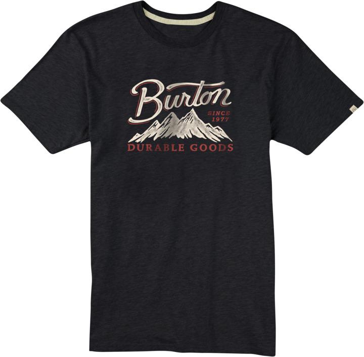 Koszulka Burton Front Range (True Black Heather) Ss17