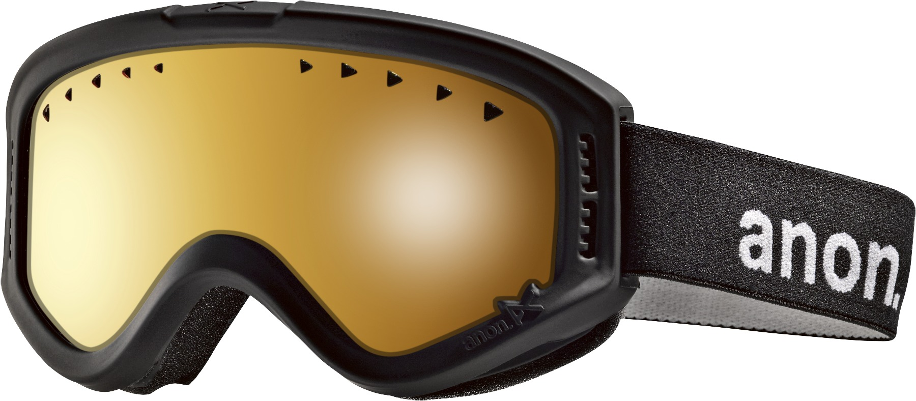 Gogle Anon Tracker (Black/ Amber)