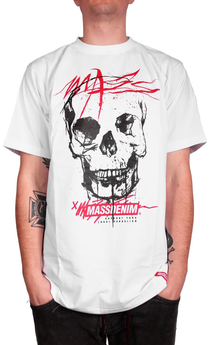 Koszulka Massdnm Horror (White)