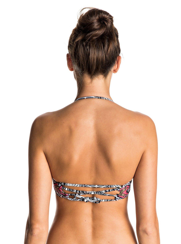 Góra Od Bikini Roxy Mexic' Strappy Bandeau Bikini Top (Regata Soaring Eyes) Ss17
