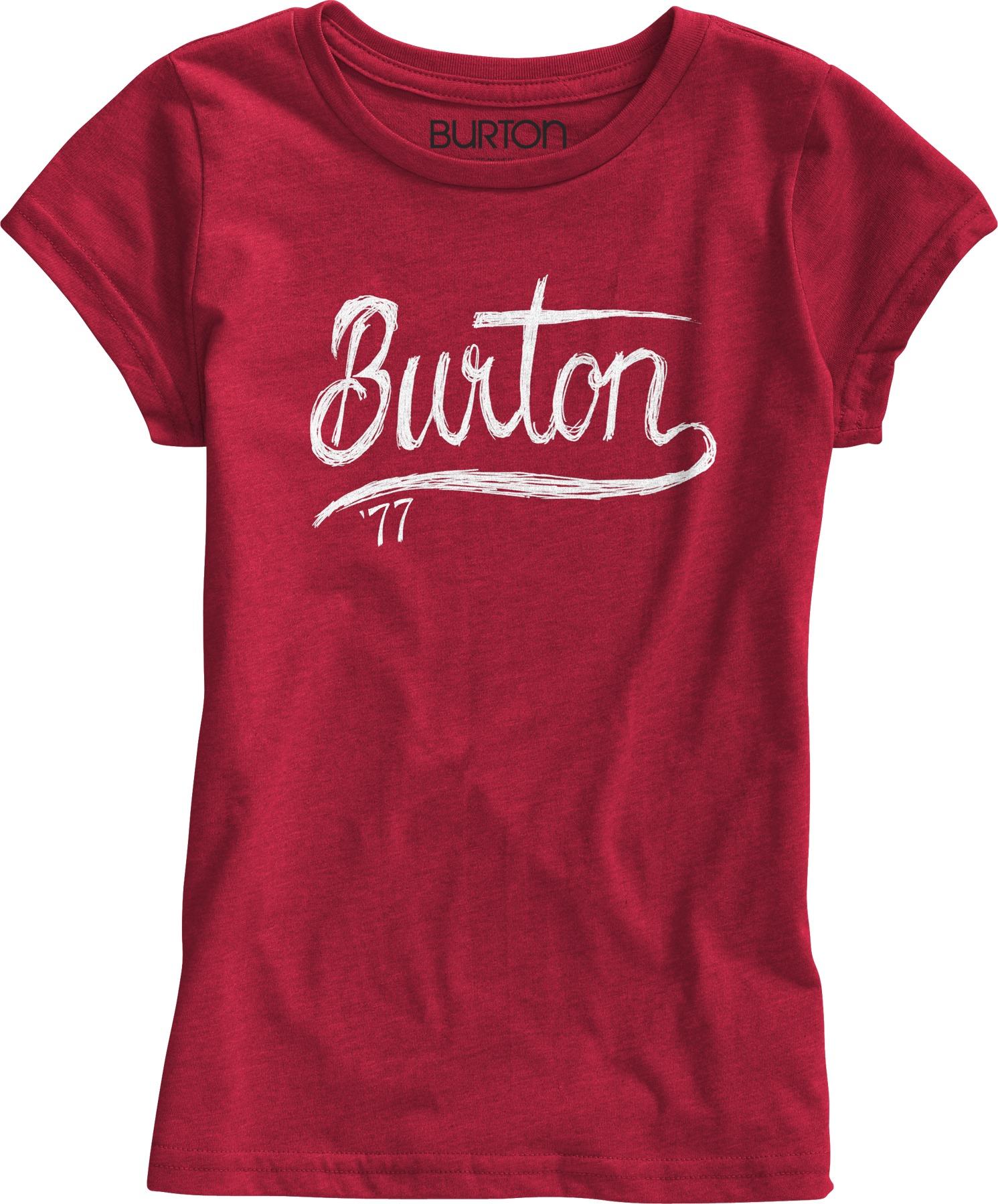 Koszulka Dziecięca Burton Girls Dream Team (Heather Hot)