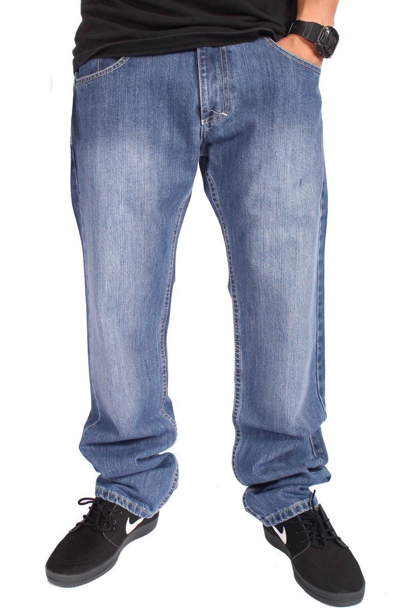 Spodnie Mass Denim Jeans Classics (Light Blue)