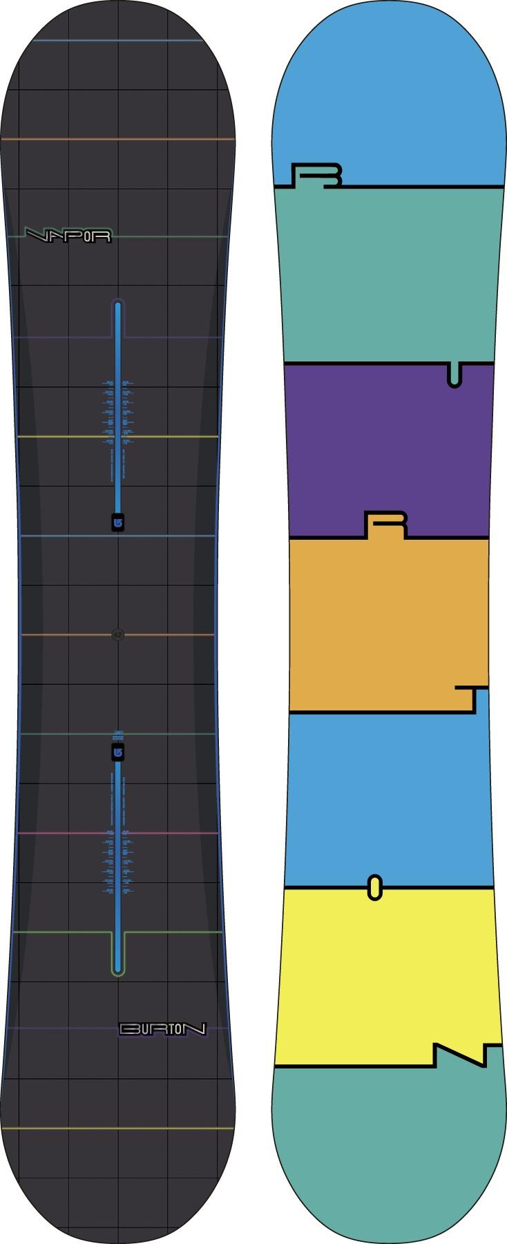 Deska Snowboardowa Burton Vapor 162