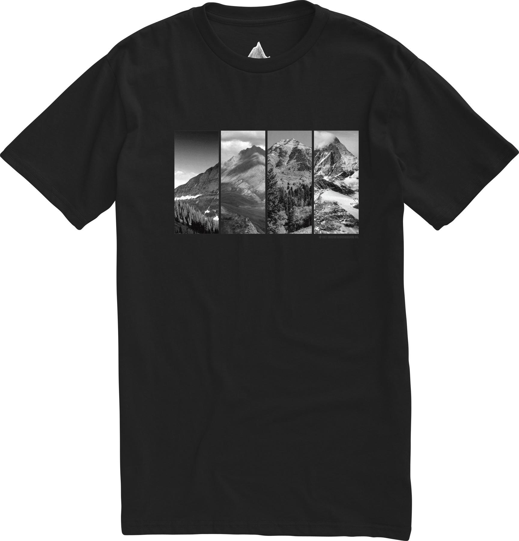 Koszulka Burton Four Seasons Slim (True Black)