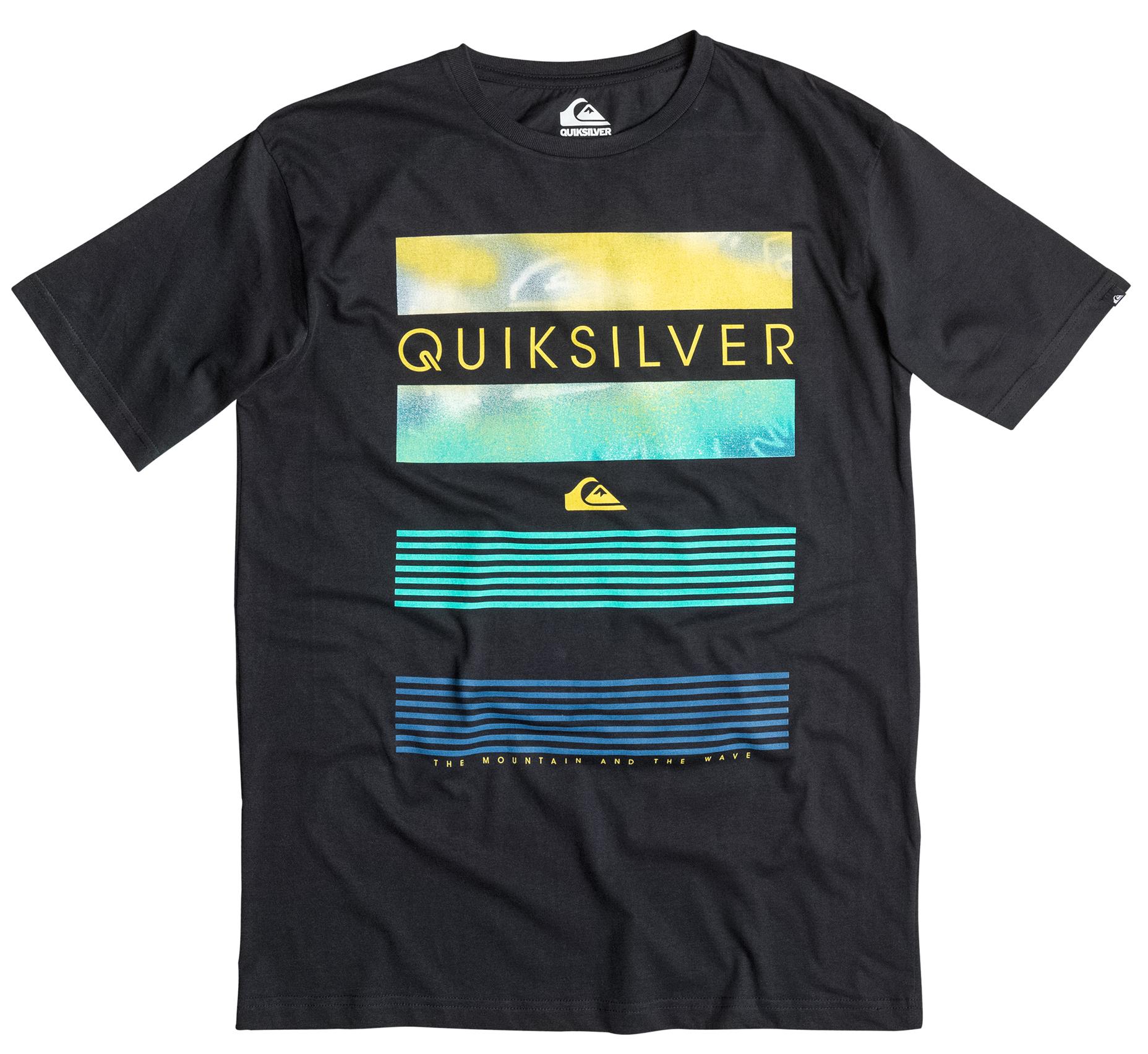 Koszulka Quiksilver Classic Line Up (Black) Ss16