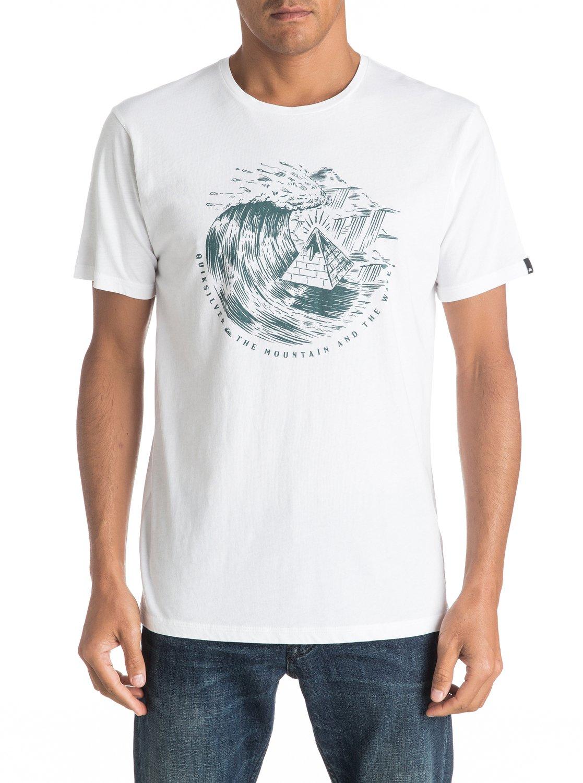 Koszulka Quiksilver Engraved (White) Ss17
