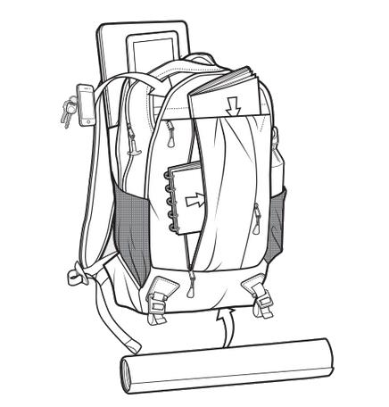 Plecak Burton Bravo Pack (Process Pop Ripstop)