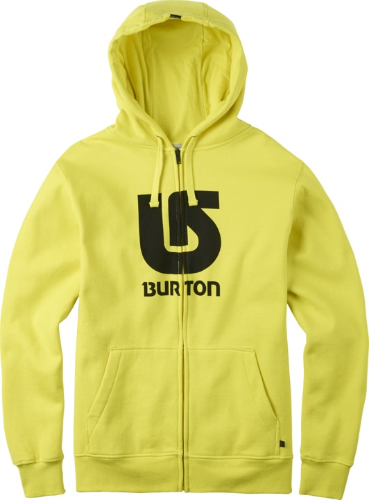 Bluza Burton Logo Vertical Full-zip (Green Sheen)