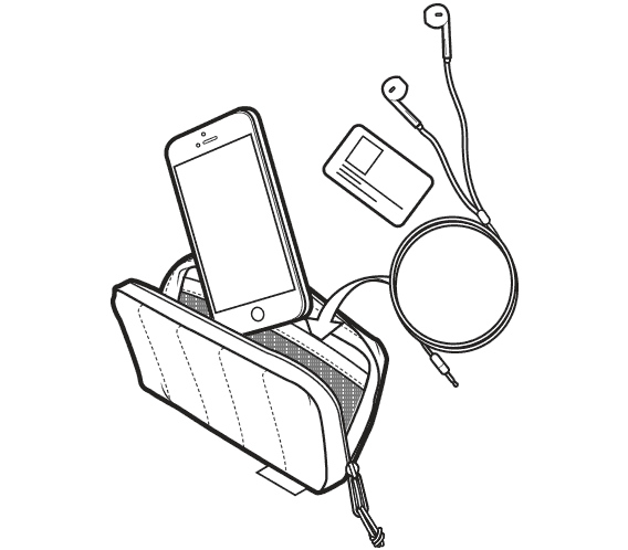 Pokrowiec Ocieplany Na Telefon Burton Antifreeze Case (True Black) FW20