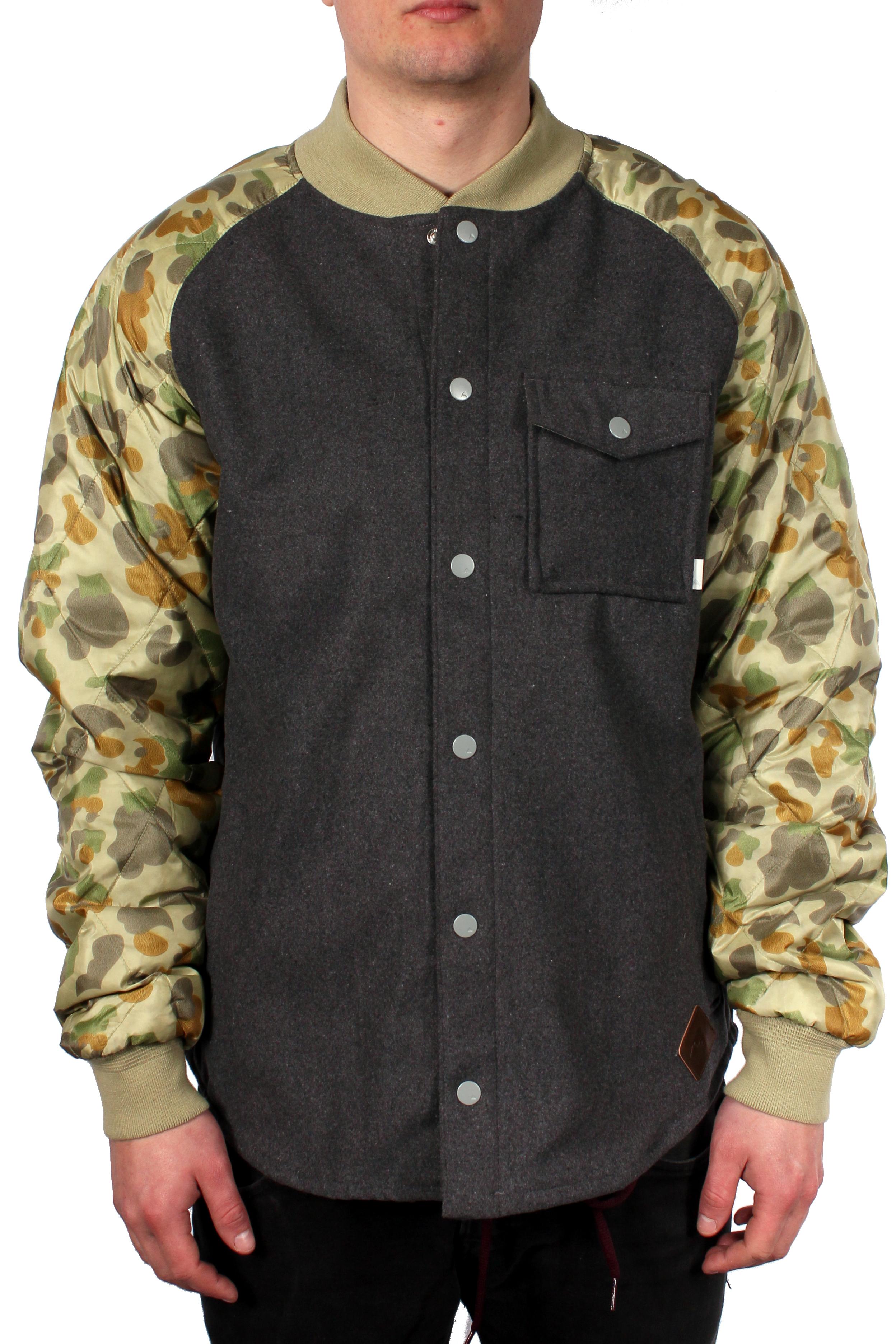 Bluza Ocieplana Burton Ackley Flannel (Ash Heather)