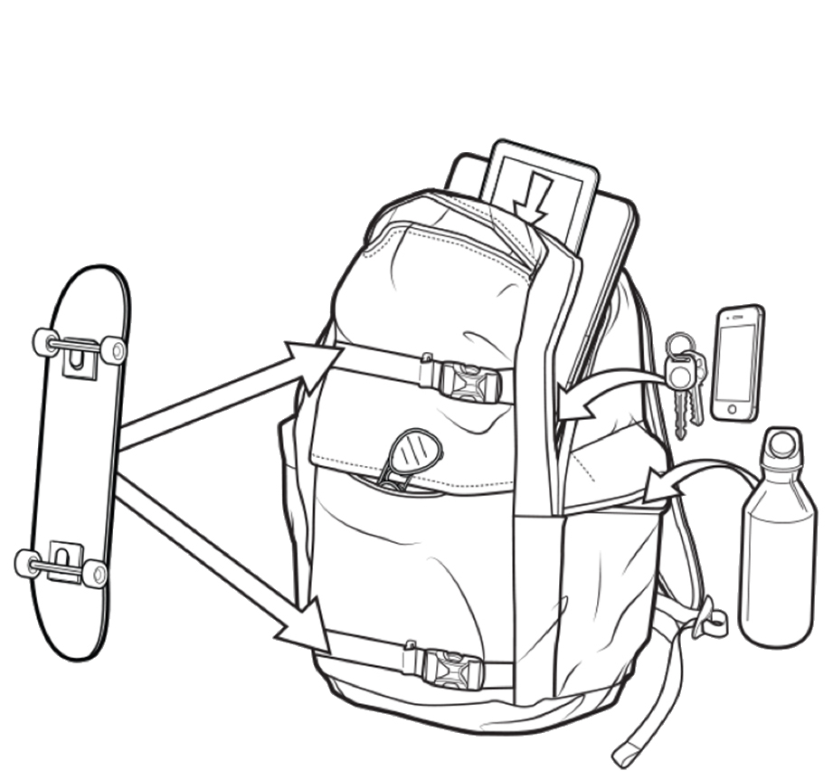 Plecak Burton Kilo Pack (Lowland Camo Herringbone)