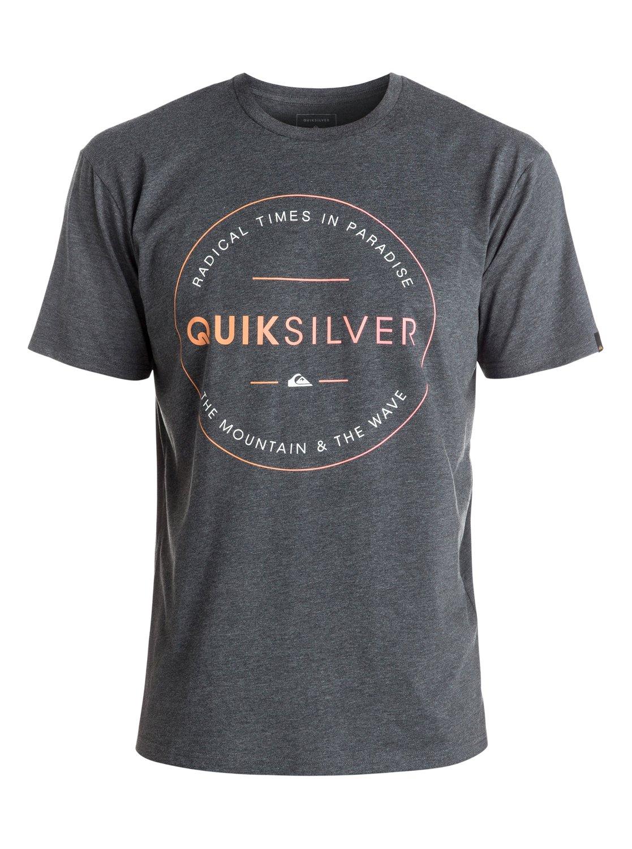 Koszulka Quiksilver Free Zone (Charcoal Heather) Ss17