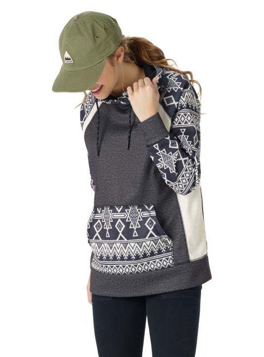 Bluza Burton Heron Pullover (Heather Black Mojave) W18