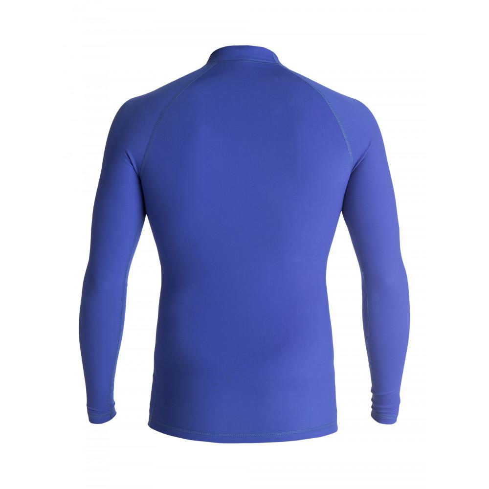 Lycra Quiksilver Heater Longsleeve Rash Vest (Royal) Ss18
