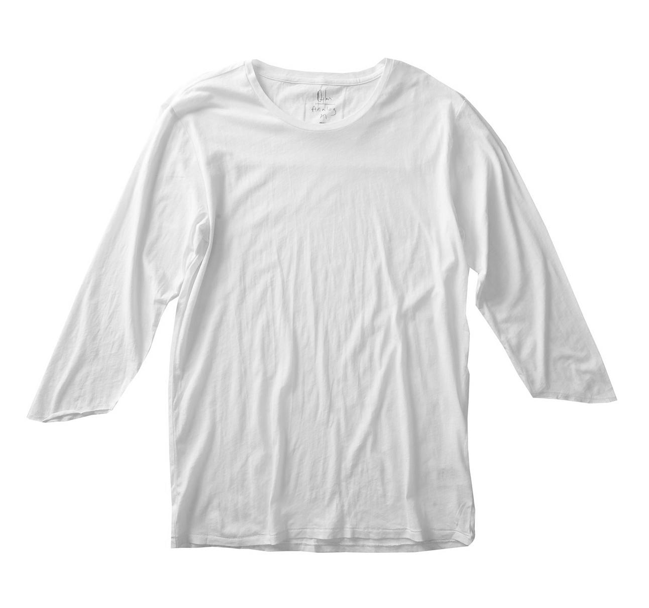 Koszulka Analog Dylan 3/4 Sleeve (White)