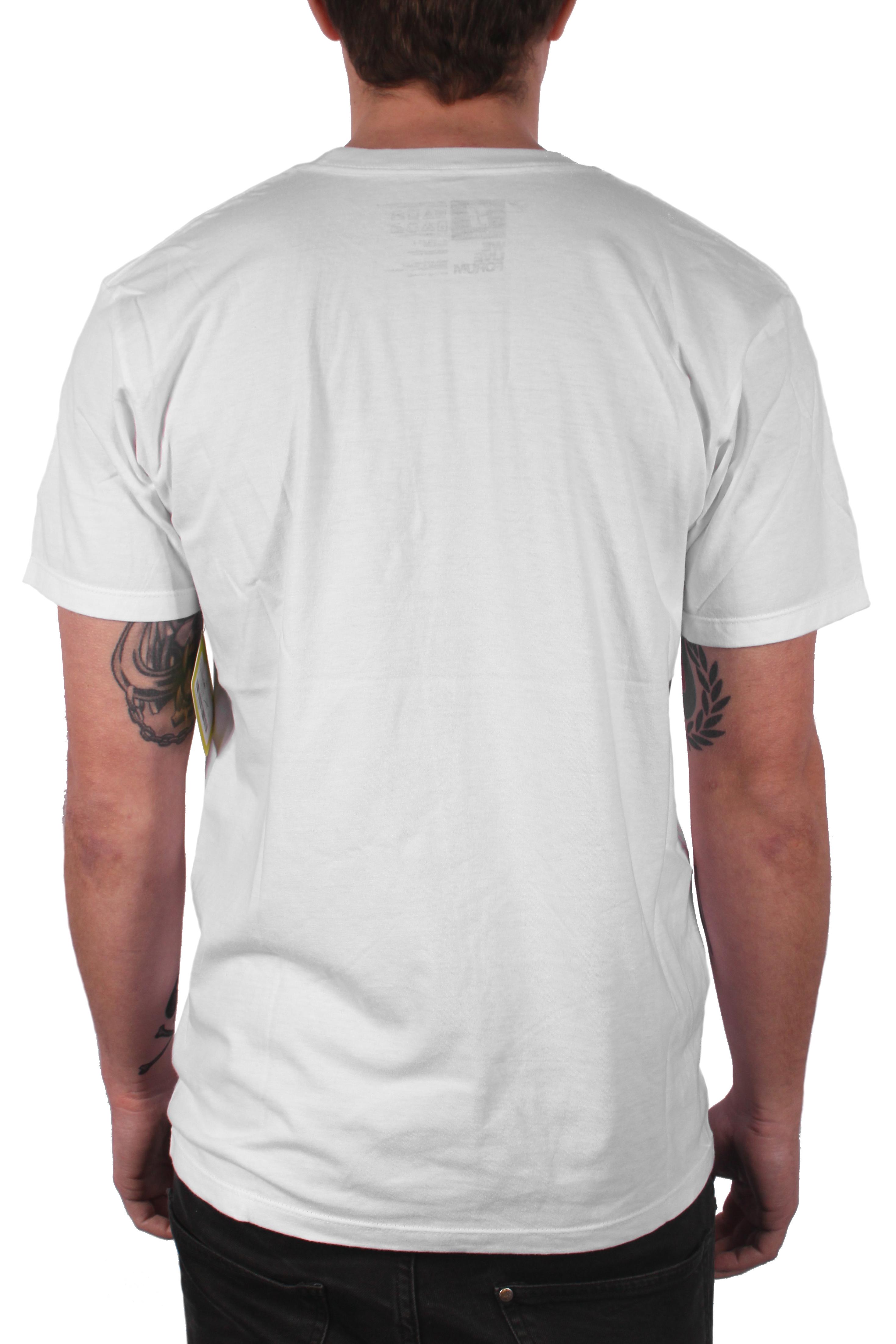 Koszulka Forum Corp Strip (Yayo White)