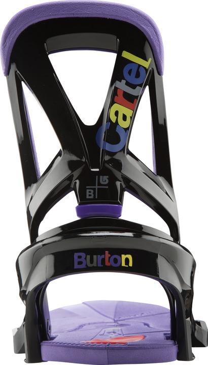 Wiązania Snowboardowe Burton Cartel Est Restricted (Dx Black Japan)
