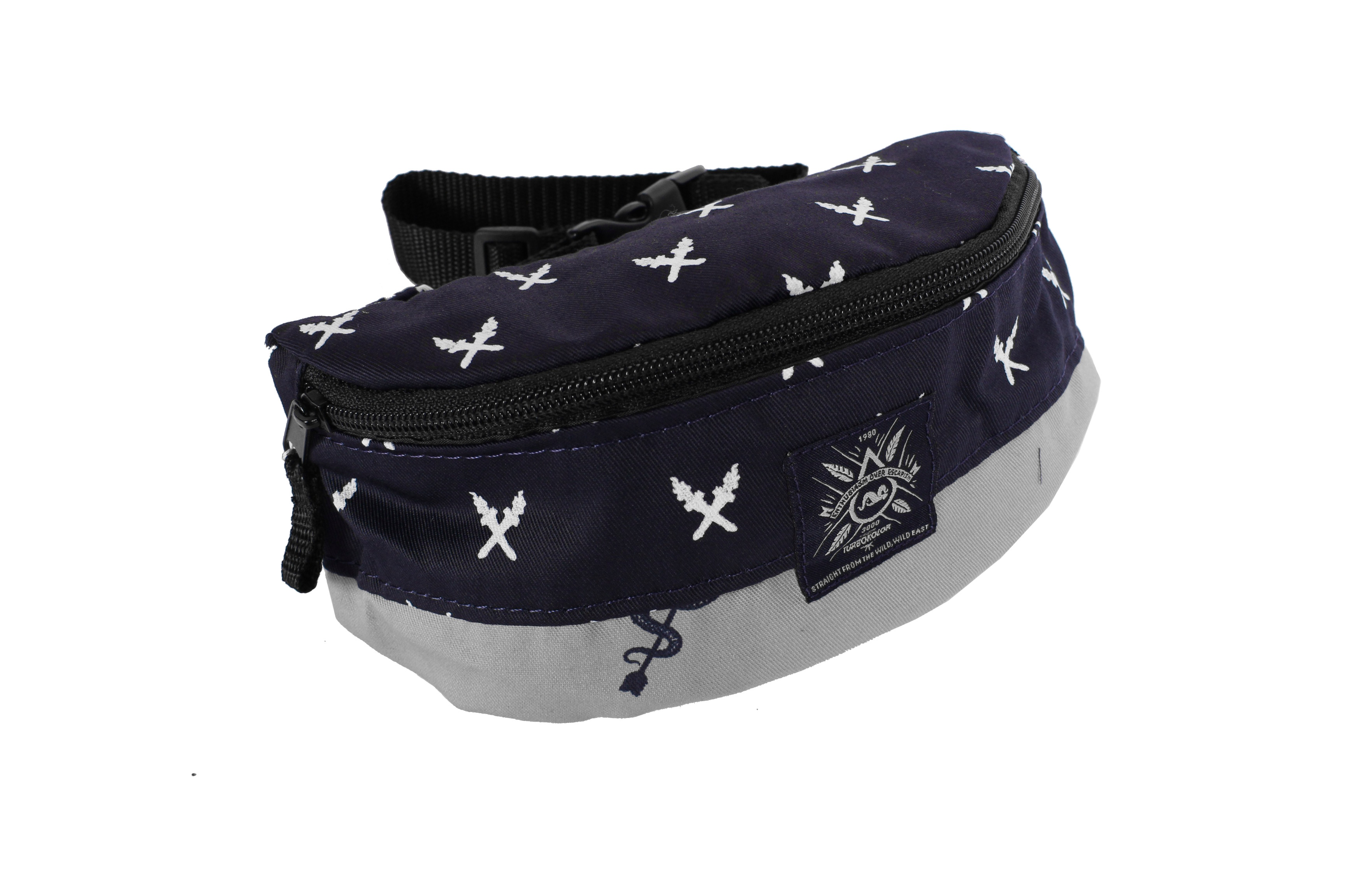 Nerka Turbokolor Hip-bag (Navy/Torch Print)