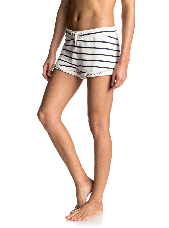 Szorty Damskie Roxy Signature Stripe Short (Marshmallow Signature) Ss17
