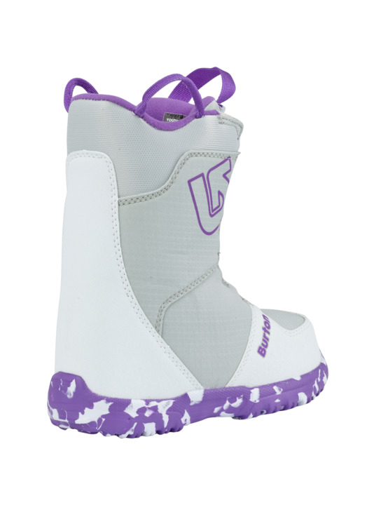 Dziecięce Buty Snowboardowe Grom Boa (White/Purple) W19